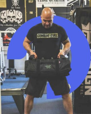 [NOT FOR THE FAINT-HEARTED]  Can you take on The55's session 18 with a twist...  THE WORKOUT:   4 SETS / 10 REPS  COMPLETED WITH 4 CHAMBERS FULL (26KG / 57lbs)  - THRUSTERS - LATERAL RIP THROUGH - BACK SQUATS  - LINEAR RIP THROUGH  - PRESS UPS  Tag us & tell us your time in the comments!  Want more information on The55? Link in bio! . . . . #clubbell #clubbells #steelclubtraining #nobodycarestrainharder #nobodycaresworkharder #buildingbetterhumans #steelclubexercises #steelclubworkout #steelclubsflow #onnit #dvrt #strongmanworkout #sandbagworkout #sandbagtraining #sandbag #sandbagworkouts #ultimatesandbagtraining #sandbagworkout