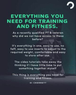 """[EVERYTHING YOU NEED FOR TRAINING AND FITNESS]  Don't just take our word for it...   """"As a recently qualified PT & veteran why did we not have access to these before?   It's everything in one, easy to use, no faff, easy to use inserts to adjust to the required weight, comfortable and easy to store after use.   The video tutorials take away the thinking if I have little time to put something together myself   This thing is everything you need for training and fitness.""""  - SI CHERRETT . . . . #fitnessmotivation #sandbagfitness #sandbag101 #trainanywhere #tacitcaltraining #strengthandconditioning #fitnessequipment #homeworkout #shoulderstrength #homegymsetup #sandbags #sandbagtraining #sandbagworkout #sandbagcarry #bruteforcesandbags #ultimatesandbag #sandbaggers #sandbagfitness #sandbagsquats #sandbagcleans #sandbagwod #sandbagworkouts #trunksandbags #sandbagrun #ultimatesandbagtraining #sandbagstrength #veteranowned #veteranownedbusiness #nogymrequired #onebagnolimits"""